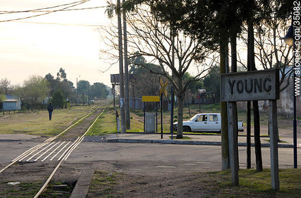 Young train station - Photos of Young city, URUGUAY. Image #35082