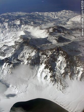 The Andes from the sky - Photos of Andes, ARGENTINA. Image #46359