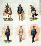 Photo #47935 - Military uniforms in the nineteenth century