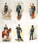 Photo #47934 - Military uniforms in the nineteenth century