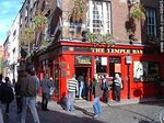 The Temple Bar en Temple Lane. Beer Garden. - Foto #48645