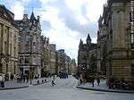 Calle Lawnmarket en Royal Mile de Edimburgo. - Foto #49109