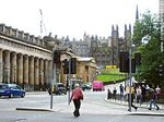 The Mound. National Galleries of Scotland. The Royal Scottish Academy. Universidad de Edimburgo. - Foto #49161