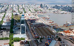 Photo #55763 - Antel complex, Aguada Park, Port of Montevideo and Old Town