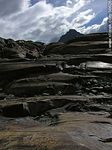 Foto #56626 - Viedma Glacier. Rocks eroded by glaciers