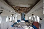 Foto #58207 - Old Fokker abandoned in Melilla. Inside the fuselage