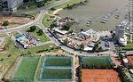 Foto #58335 - Aerial view of soccer and tennis at the Yacht Club