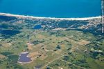 Foto #58769 - Aerial view of fields next to Jose Ignacio