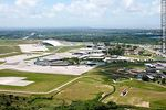 Photo #58884 - Aerial view of DINACIA, Cargo Terminal,  Brigada Aérea 1 and Carrasco Airport