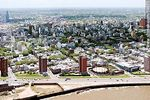 Foto #59071 - Aerial view of the Rambla Argentina on the Barrio Sur quarter.