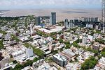Foto #59132 - Aerial view of the Buceo neighborhood, residences and towers