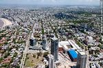 Foto #59141 - Aerial view of Montevideo Shopping Center and the WTC towers. Free Zone Buceo