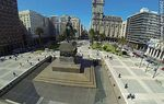 Foto #60662 - Aerial view of Independence Square. Monument to Artigas