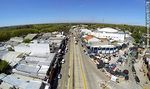 Foto #61178 - Aerial photo of the Avenida Garzon. Saturday market fair at the junction with Av Lezica