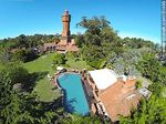 Foto #61466 - Aerial photo of the hotel gardens and pool