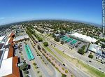 Foto #63375 - Aerial photo of Avenida Italia, Portones Shopping and Tienda Inglesa