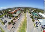 Foto #63378 - Aerial photo of Avenida Italia, Portones Shopping and Tienda Inglesa
