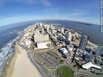 Foto #64562 - Aerial photo of Playa Brava, bus terminal and Punta del Este, Santos Dumont, Gattas and Torreon buildings