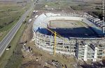 Photo #64995 - Aerial photo of the progress of the construction of the stadium of Club A. Peñarol to August 15, 2015