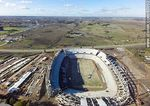 Photo #65002 - Aerial photo of the progress of the construction of the stadium of Club A. Peñarol to August 15, 2015