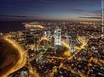 Photo #65232 - Nocturnal aerial photo of the Rambla Armenia and World Trade Center Montevideo