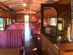 Foto #65539 - Interior of an old wagon turned-restaurant. Living room