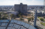 Foto #66077 - Aerial view of a sector of Olimpica and Colombes tribunes, the Hospital de Clinicas