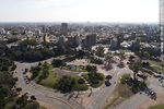 Foto #66076 - Aerial photo of a sector of Parque Batlle and Av. Ricaldoni