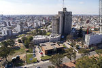 Foto #66084 - Aerial view of the Uruguayan Center for Molecular Imaging behind Hospital de Clínicas