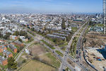 Foto #66519 - Aerial view of the crossing of avenues José Pedro Varela and Dámaso Larrañaga towards the southwest.