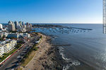 Foto #67150 - Aerial view of the Artigas Wadi and the port of Punta del Este