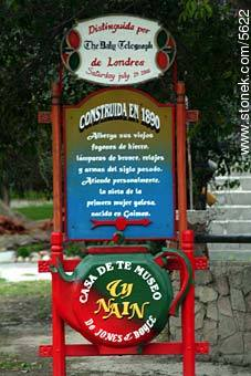 Welsh Tea House announcement - Photographs of Gaiman - Patagonia, ARGENTINA. Image #5622